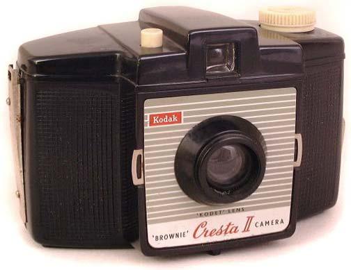 Kodak Brownie Cresta II Camera Information | The Brownie Camera Page