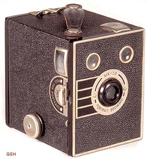 Kodak Six-20 Portrait Brownie Camera Information | The Brownie ...