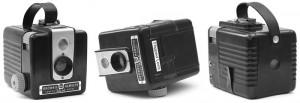 Flipped Lens Kodak Brownie Hawkeye