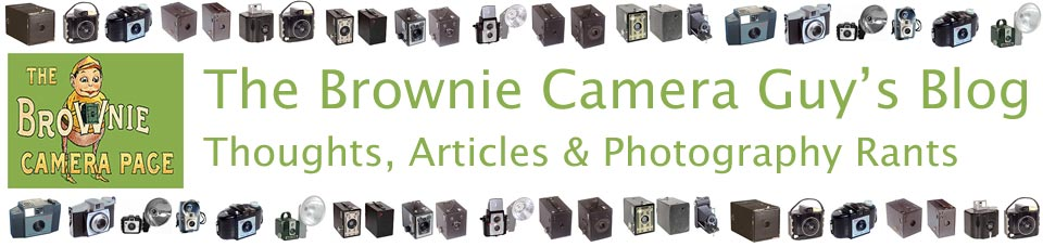 The Brownie Camera Guy's Blog