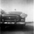 Steve Brokaw - Here Come The Police - Brownie Hawkeye Flash with Lomo Earl Grey Film