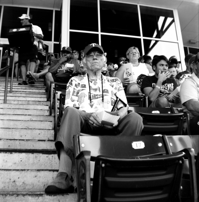 Leah Youngraven - Father's Day at the Ballpark - Brownie Hawkeye Flash