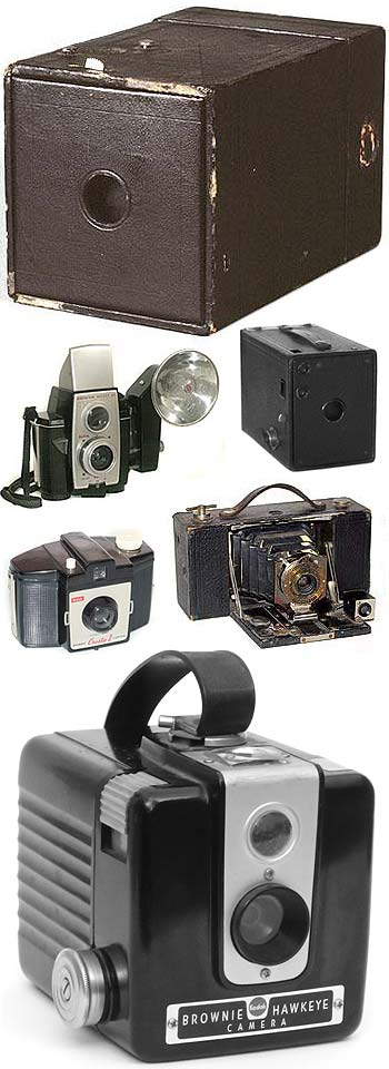 Eastman Kodak Brownie Camera Assortment