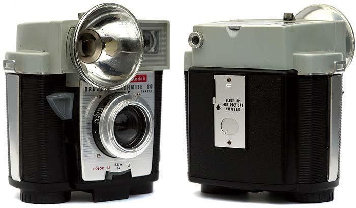 Cámara Kodak Brownie Flashmite 20