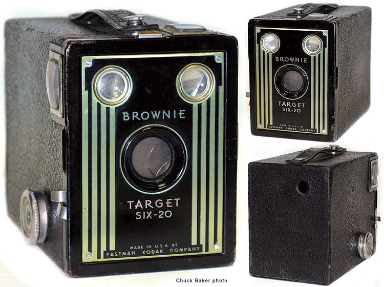 Kodak Brownie Target Six 20 Camera Information The Brownie Camera Page
